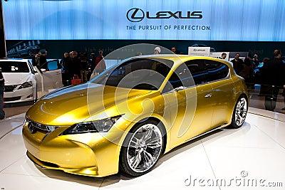 Lexus LF-Ch concept Editorial Stock Image