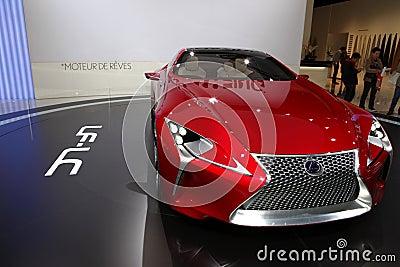 Lexus LF-LC Editorial Image