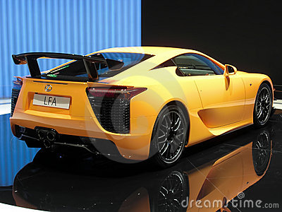 Lexus LFA Editorial Stock Image