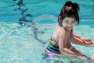 Lezione di nuotata