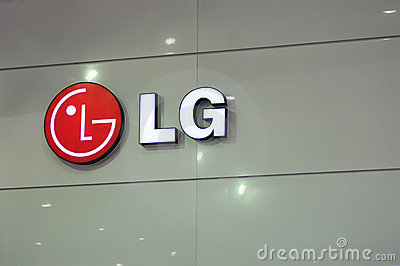 Lg booth logo Editorial Photography