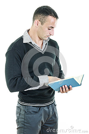 lgant-habill-sportif-bel-de-livre-de-lecture-d-homme-43816412.jpg