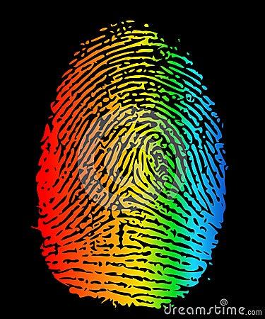 LGBT finger print