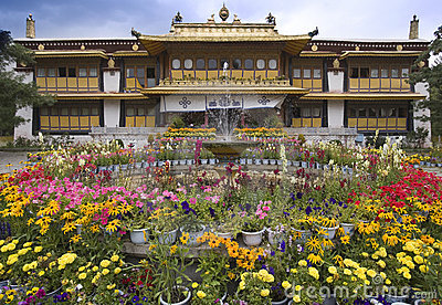 Lhasa - Tibet - Summer Palace of the Dali Lama