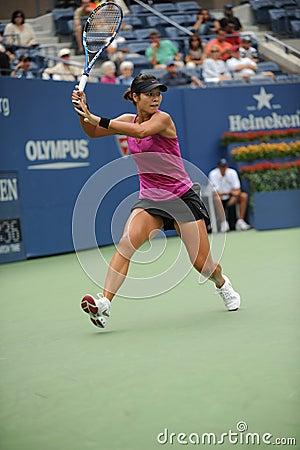 Li Na at US Open 2009 (25) Editorial Stock Image