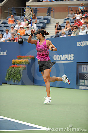 Li Na at US Open 2009 (42) Editorial Photo