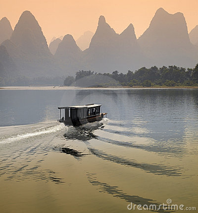 Free Li River - Guangxi Province - China Stock Photography - 15074042