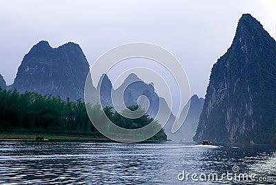 Li river near Yangshuo