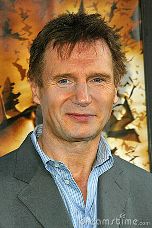 Liam Neeson Editorial Stock Photo