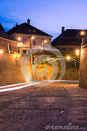 Liars  Bridge in Sibiu