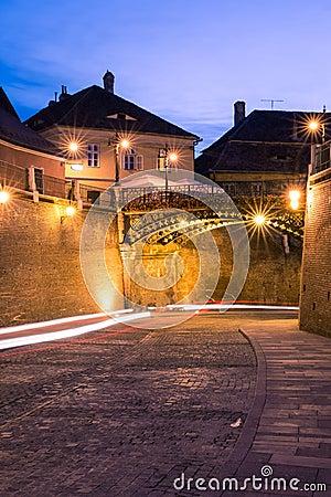 Liars  Bridge in Sibiu