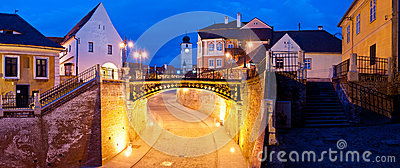 Liars bridge sibiu, romania