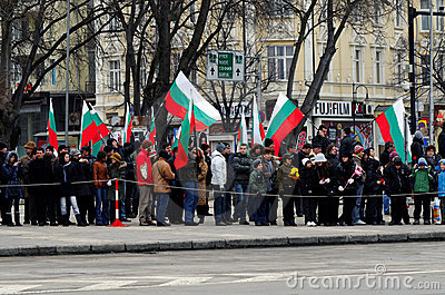 Liberation Day celebrations on March 3 Editorial Photography