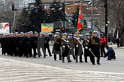 Liberation Day celebrations on March 3 Editorial Image