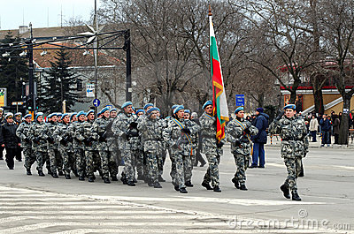 Liberation Day celebrations on March 3 Editorial Photo