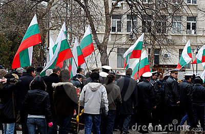Liberation Day celebrations on March 3 Editorial Stock Photo