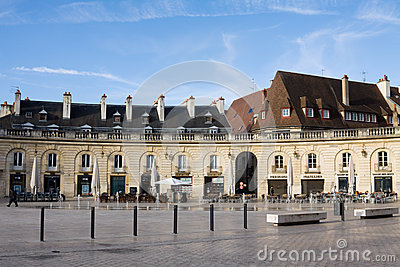 The Liberation Square in Dijon, France Editorial Stock Image