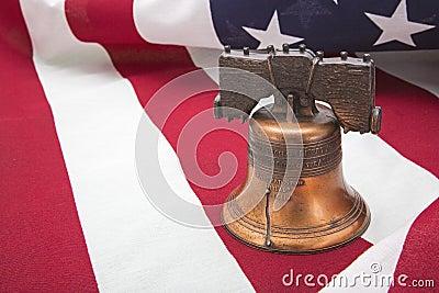 Liberty bell American flag patriotic