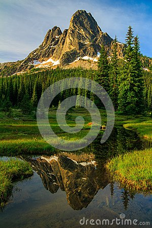 Free Liberty Bell Mountain, Washington State Royalty Free Stock Photo - 66415025