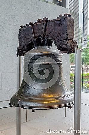 Liberty Bell in Philadelphia,