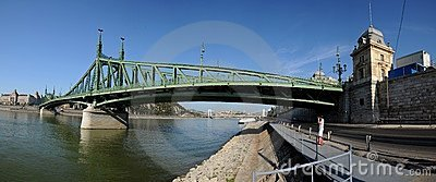 Liberty Bridge Editorial Image