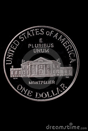 USA liberty dollar coin