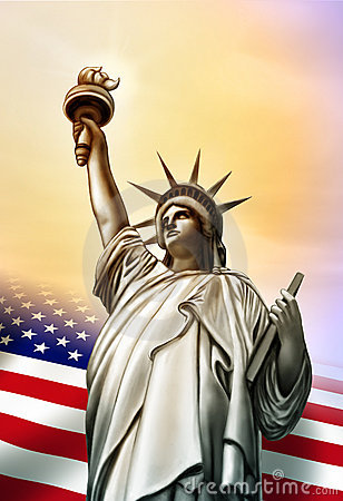 Free Liberty Statue Stock Photography - 7619002