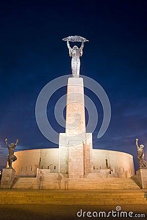 Liberty Statue - Budapest, Hungary