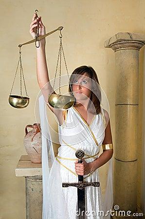 Libra zodiac woman