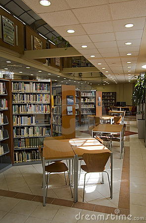 Free Library Royalty Free Stock Photography - 5721237