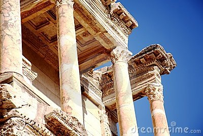 Library at Ancient Ephesus, Turkey