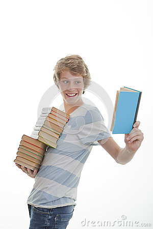 Library book student