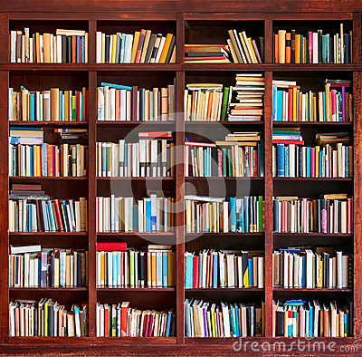 Free Library Books Background Stock Photos - 41199253