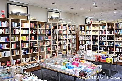Library interior architecture Editorial Photo