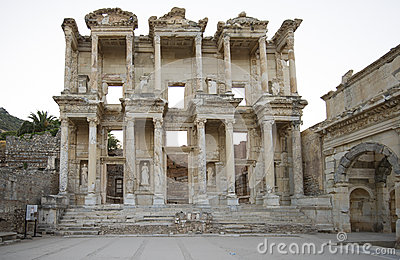 Library of Celsus in Ephesus.