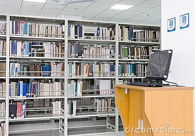 Library and computer
