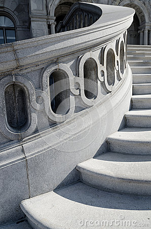 Library of Congress stairs detail