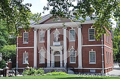 Library Hall in Philadelphia