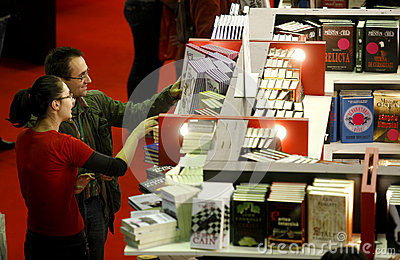 Library people Editorial Stock Photo