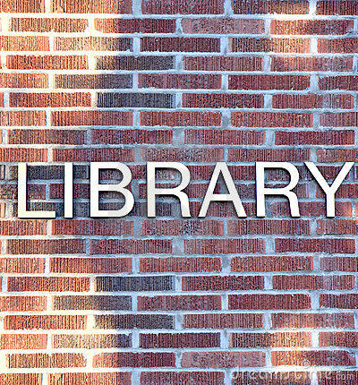 Library Sign Royalty Free Stock Photos - Image: 6926958