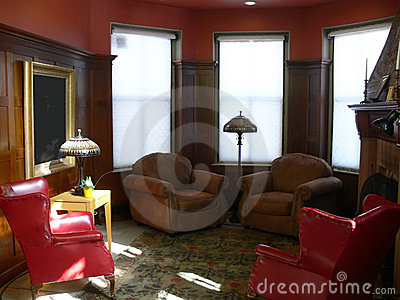Library: sunny reading nook
