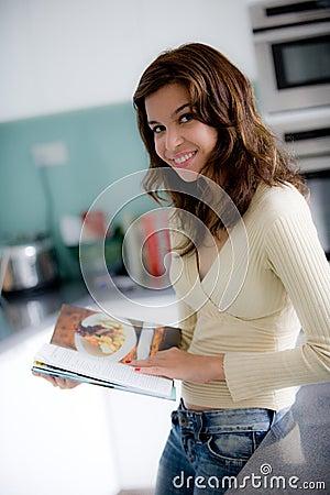 Libro de cocina de la lectura