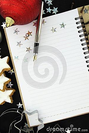 Libro de la receta de la Navidad