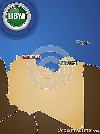 Libya War Map