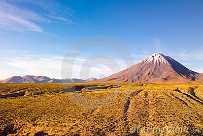 Licancabur Volcano at the Altiplano