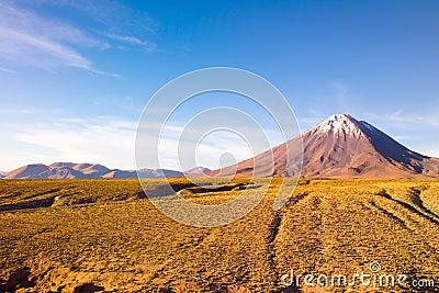 Licancabur Volcano at the Altiplano