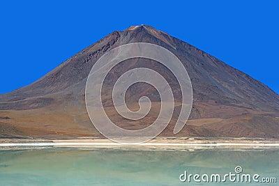 Licancabur Volcano and Laguna Verde, Bolivian Ande