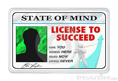 License to Succeed Permission for Successful Life