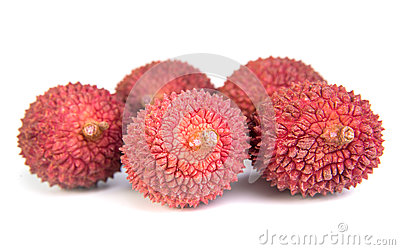Lichees Stock Photo