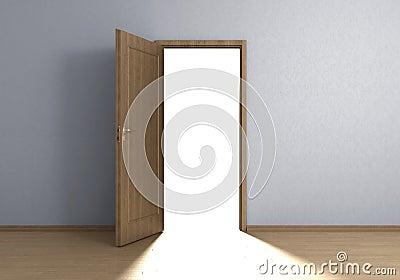 Lichte deur